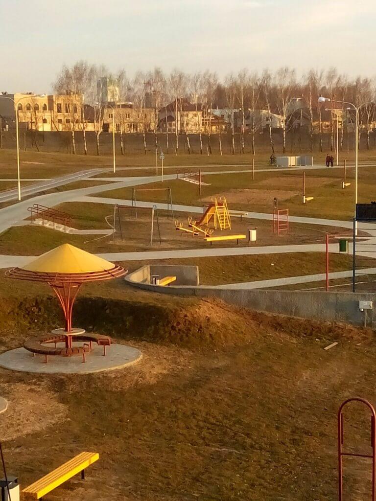 вейк парк на Цне. Минск